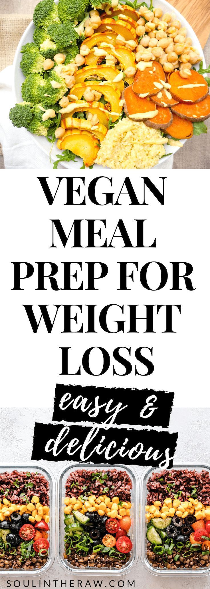 Plant Based Diet Weight Loss: The Vegan Meal Prep Plan