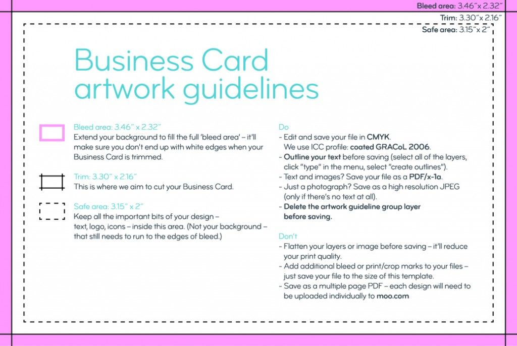 How To Design Business Cards Using Canva Moo Website