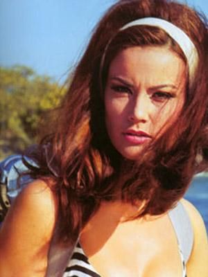 Domino Derval Claudine Auger In Thunderball 1965 Bond Girls James Bond Girls Claudine Auger