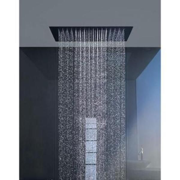 Hansgrohe 3 Spray 28 4 In Single Ceiling Mount Fixed Rain Shower