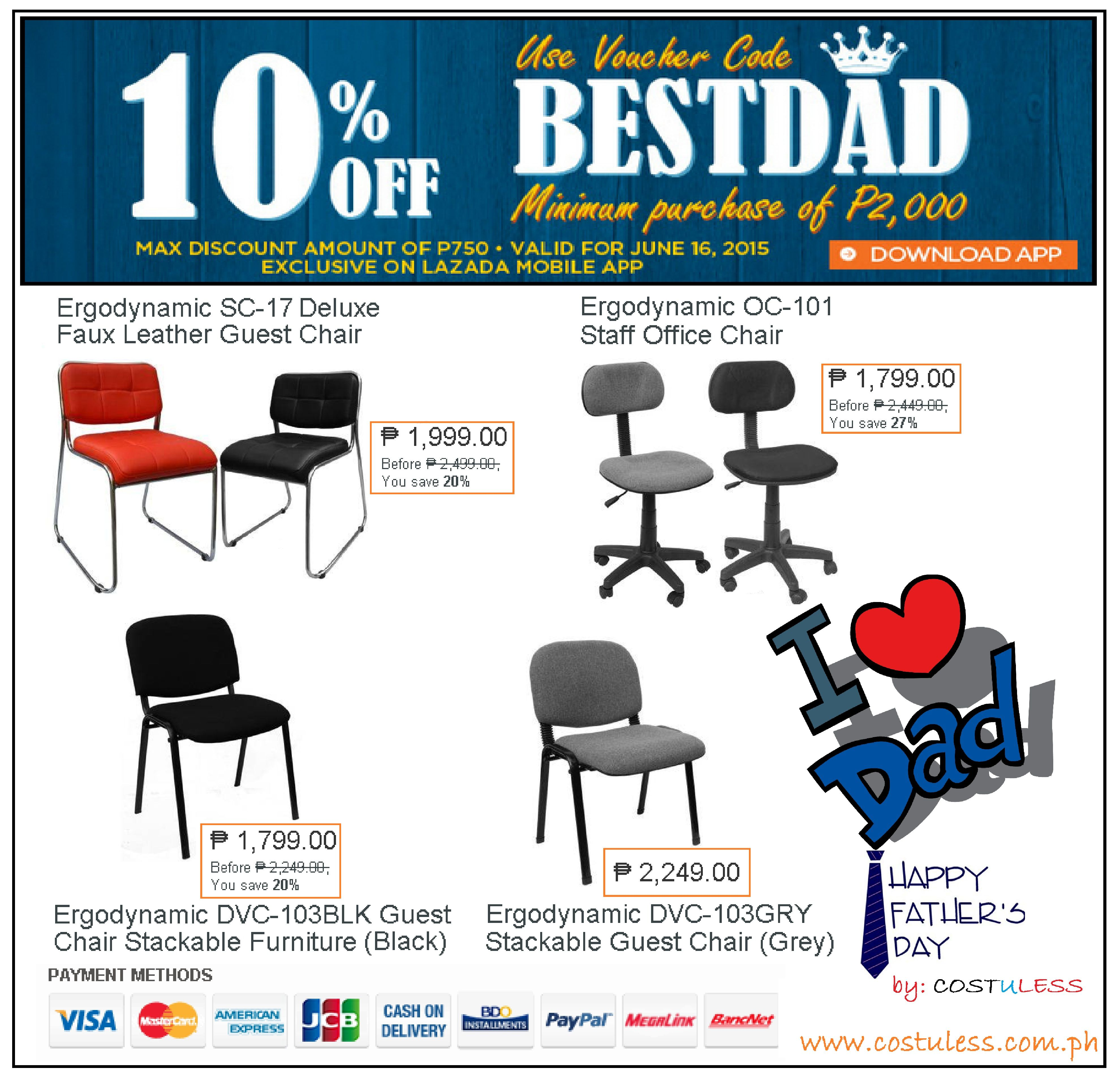 office furniture office chair sale lazada best dad promo take 10