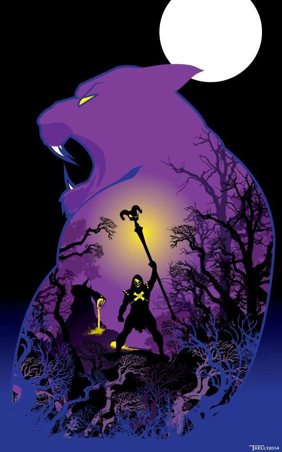 Skeletor by Tom Kelley
