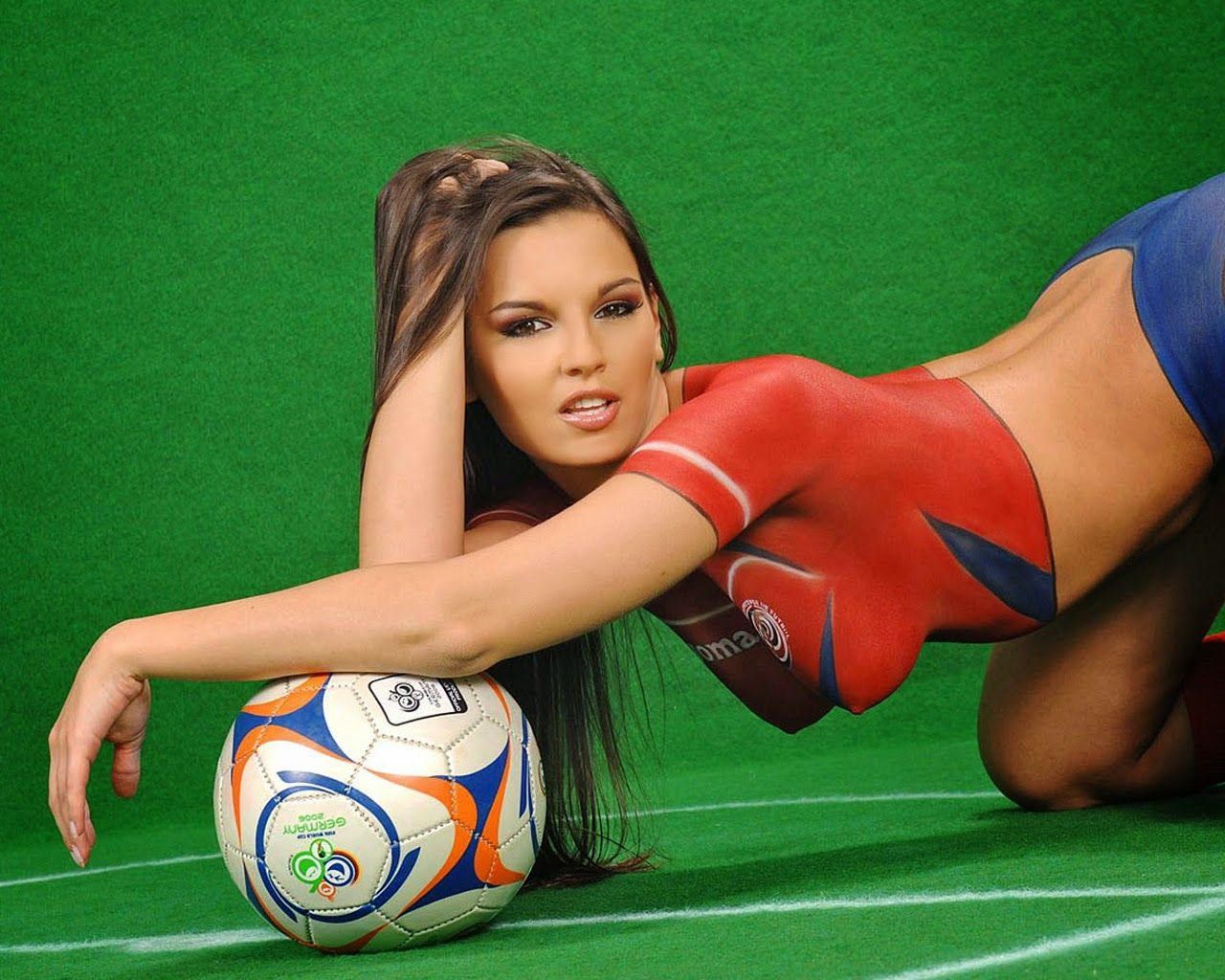 World cup soccer girls nude for