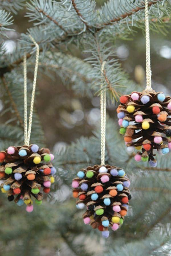 Christmas Decorations To Make Yourself.Pretty Christmas Decor You Can Make Yourself Christmas Decorations For Kids Christmas Ornament Crafts Handmade Christmas Ornaments