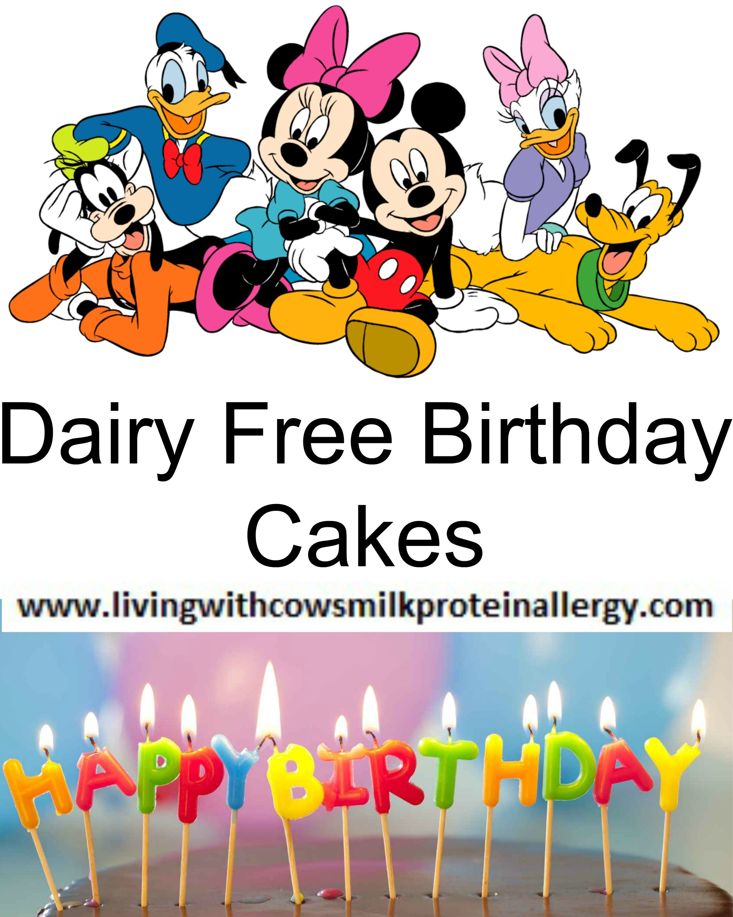 A List Of Dairy Free Birthday Cakes sold In Supermarkets UK Tesco