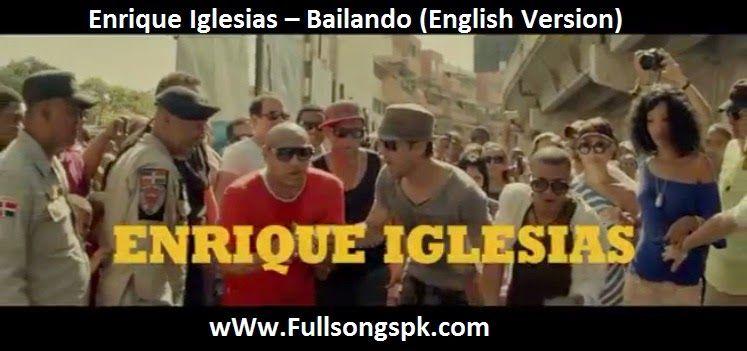 enrique iglesias bailando portuguese mp3 download