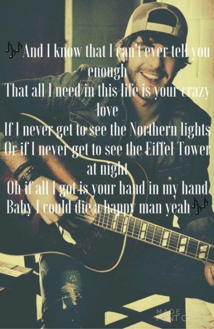b4e19557 Pin by Anonymous on Thomas Rhett in 2019 | Country songs, Music lyrics,  Country song quotes