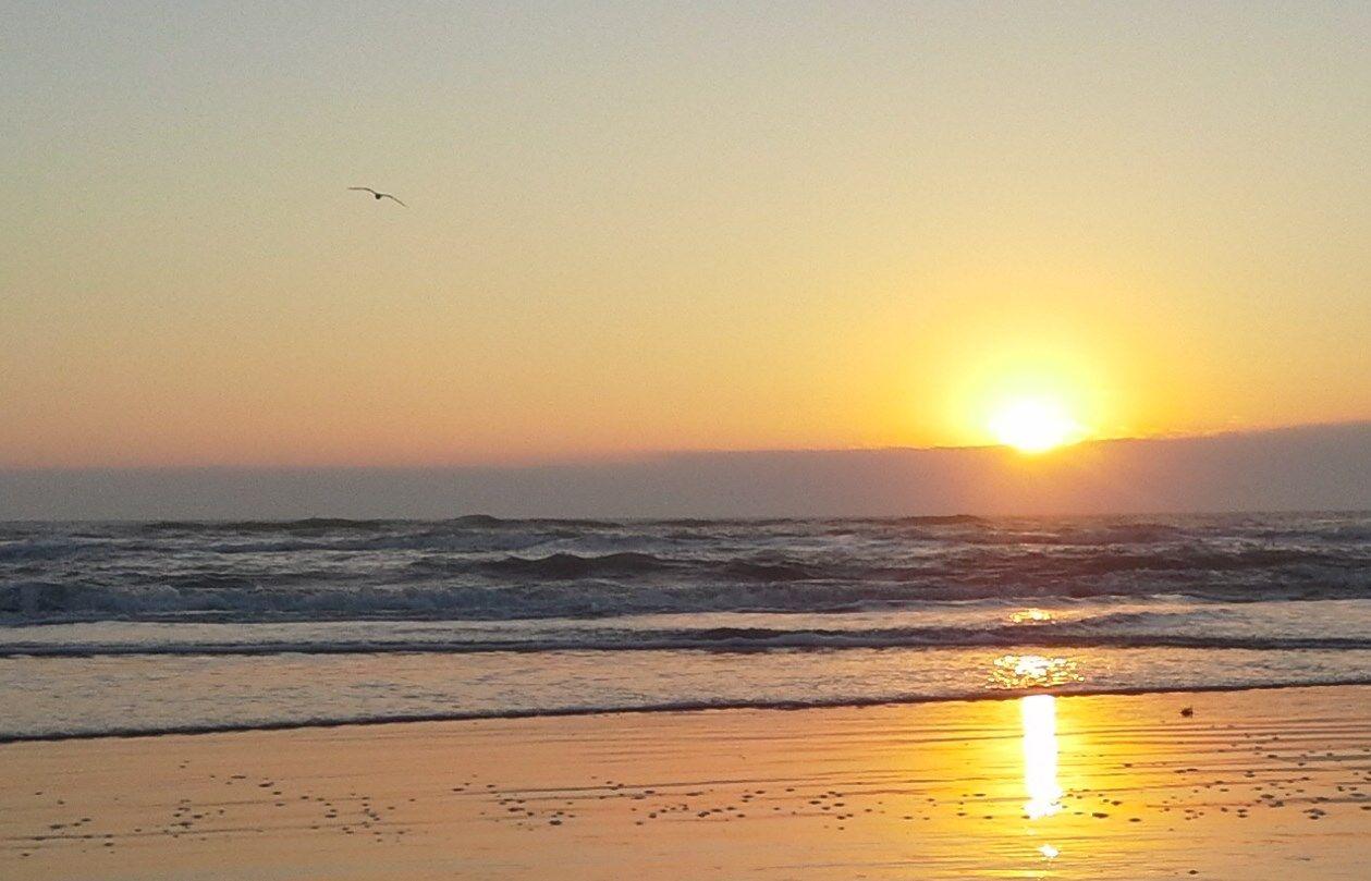 Sunrise on South Padre Island Texas