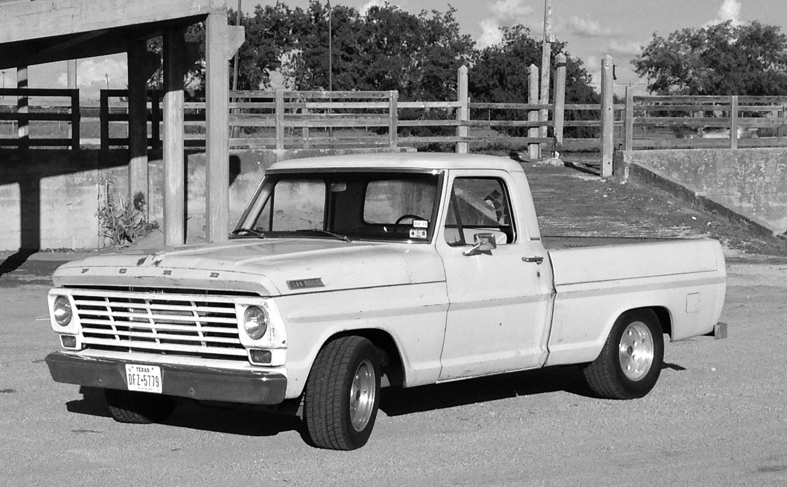 1967 ford f100 rebuild
