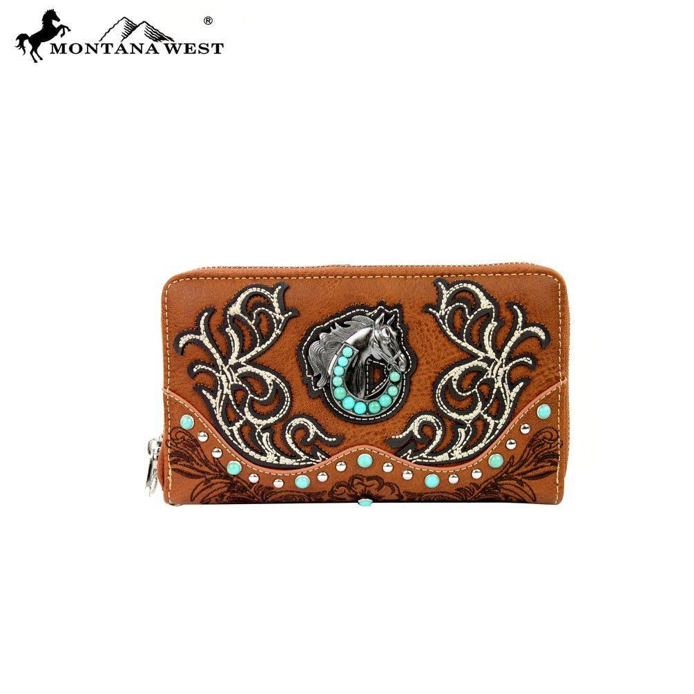 Montana West Horse Collection Wallet (MW254-W003) – Handbag-Addict.com