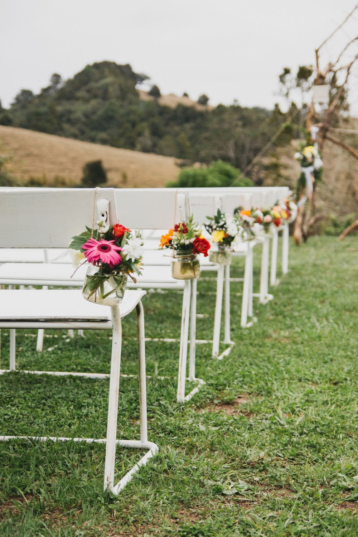 Wedding aisle decor ideas diy  A Rustic Boutique Barn Wedding by Amy Kate Photography  Backdrops