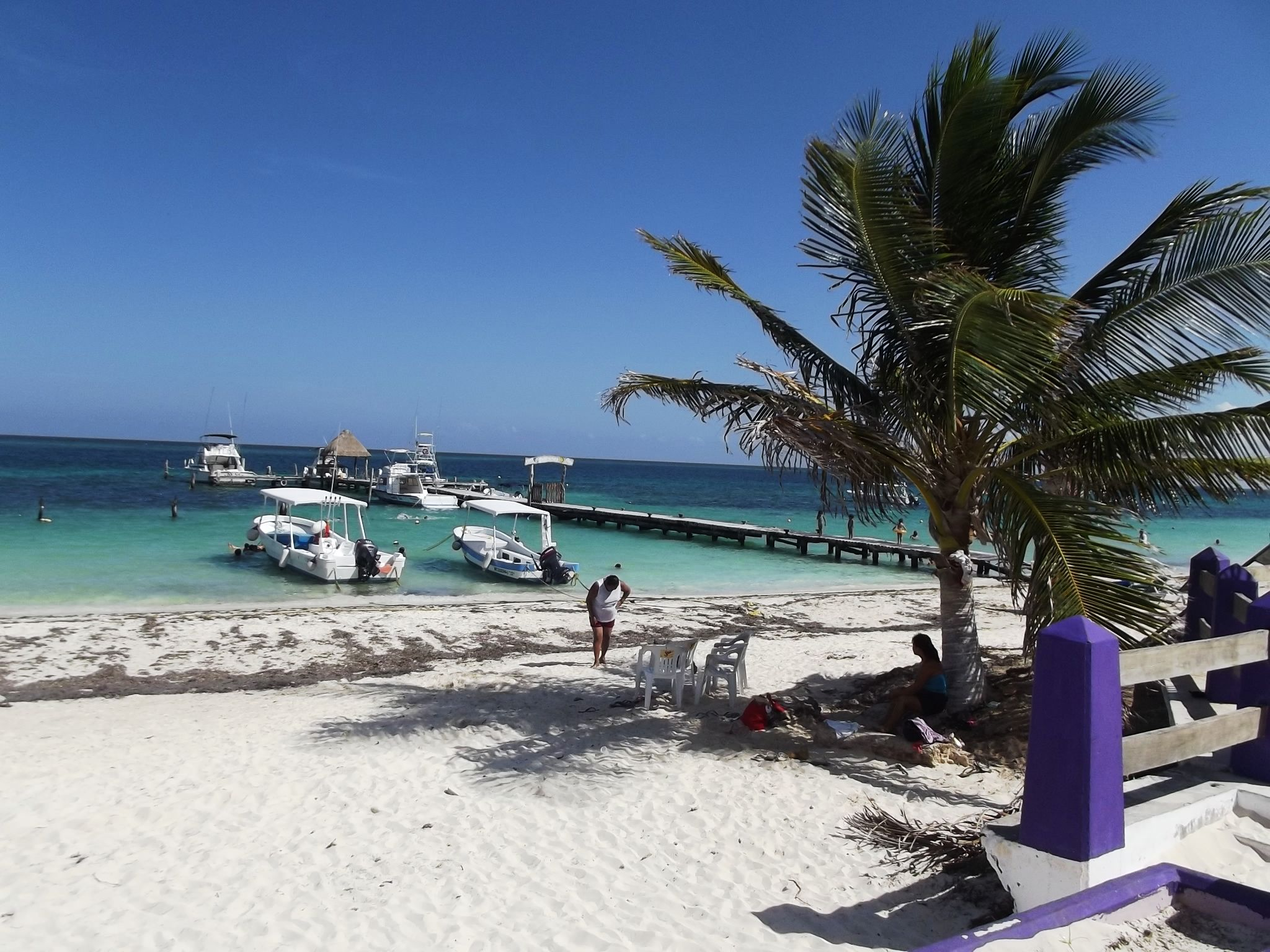 Another picture of Puerto Morelos, Mexico. just outside Cancun. Aug 2012