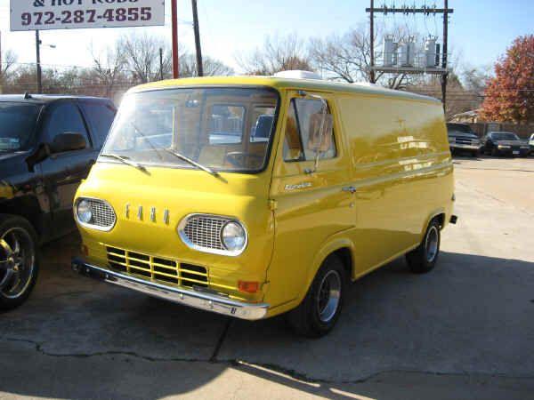 1964 Ford Econoline Van Custom Vans Vintage Vans Cool Vans