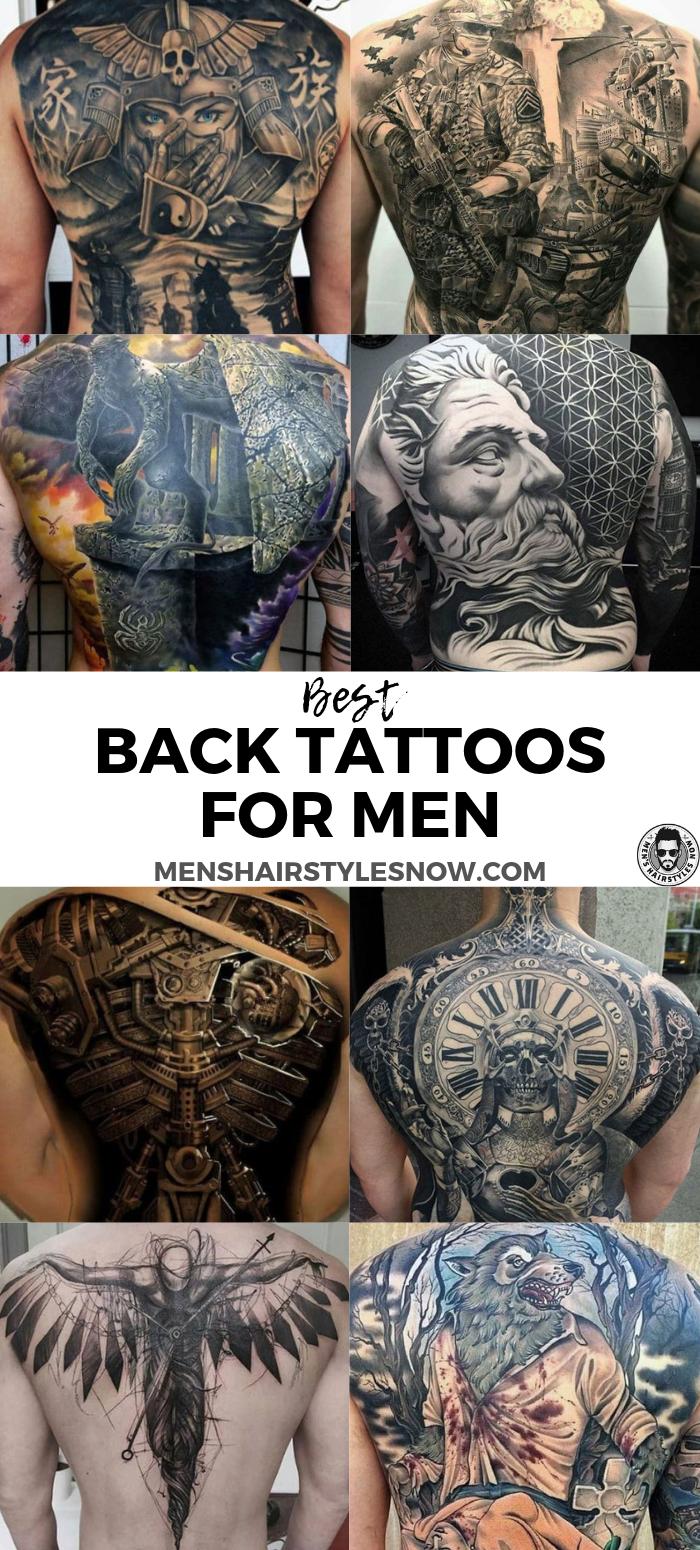 125 Best Back Tattoos For Men Back tattoos for guys