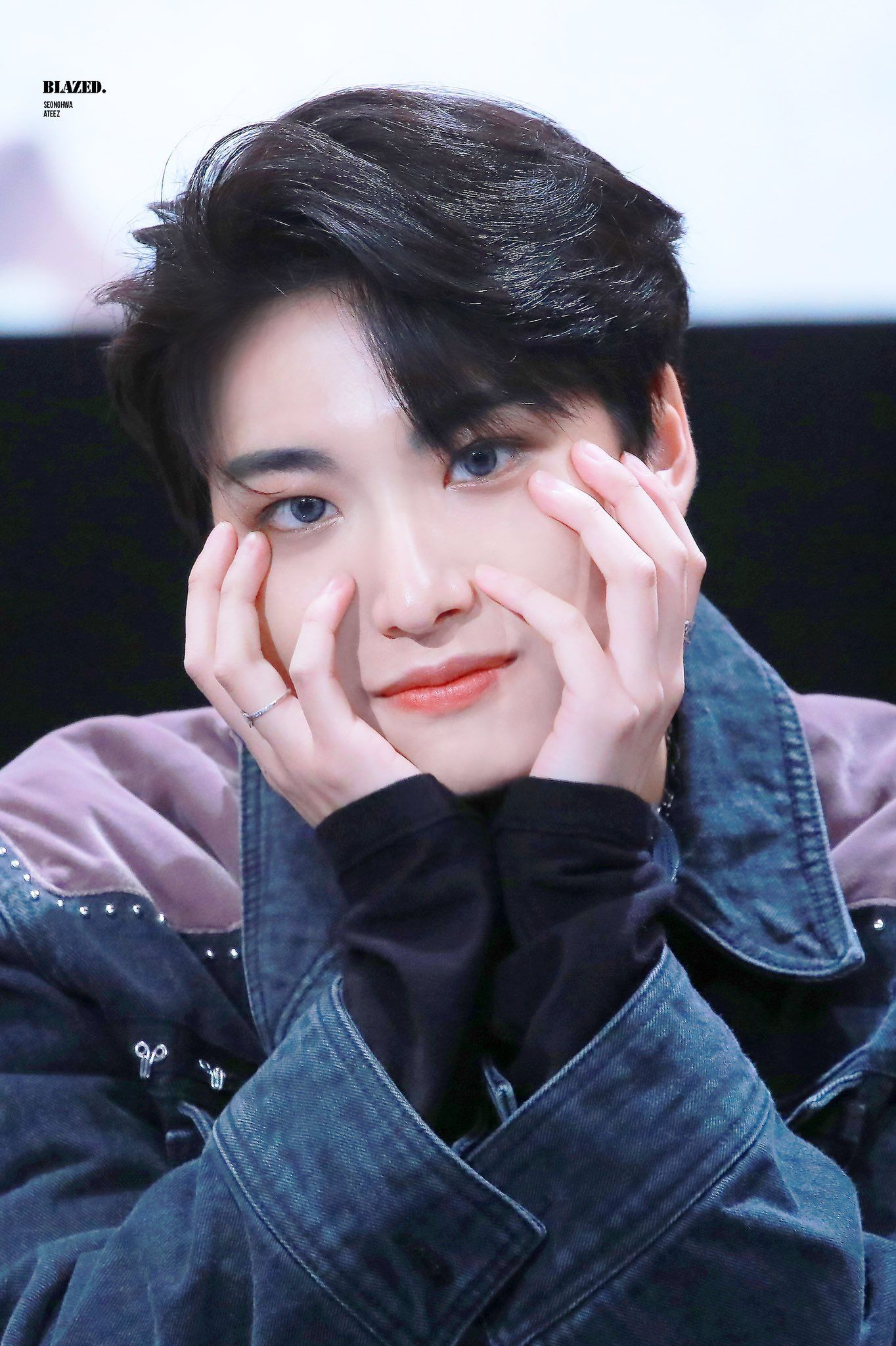 Seonghwa Ateez Kpop Kpop Idol Woo Young