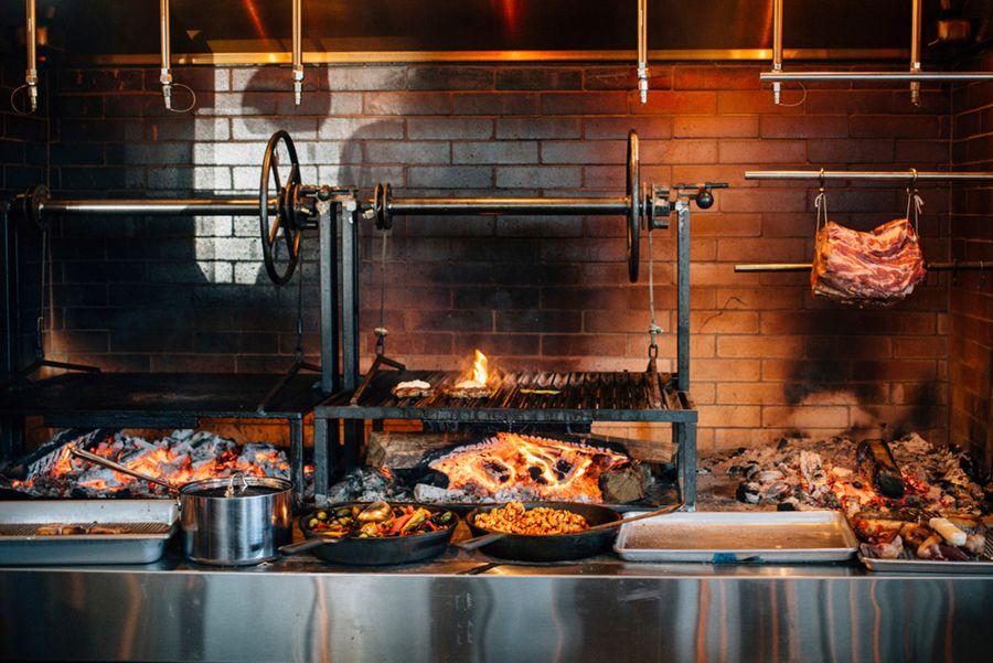 Brand Identity For The Promontory By Dan Blackman Bp O Restaurant Kitchen Design Cooking Restaurant Bbq Restaurant