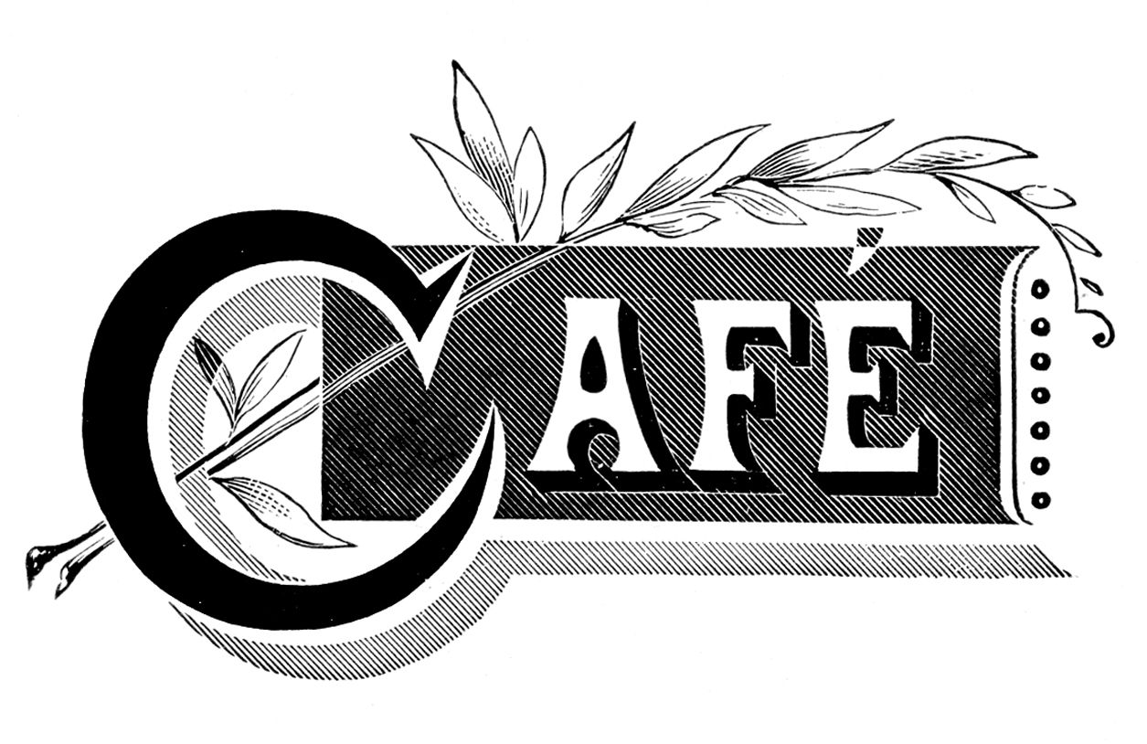 *The Graphics Fairy LLC*: Vintage Typography - Cafe and Wine List