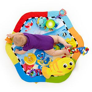 Baby Einstein Rhythm of the Reef Play Gym™ With the Rhythm of the Reef Play Gym little ones enjoy soft comfort, dancing lights, and classic melodies that entertain and encourage play! Get yours @Target! #BabyEinstein #PlayGym #Baby