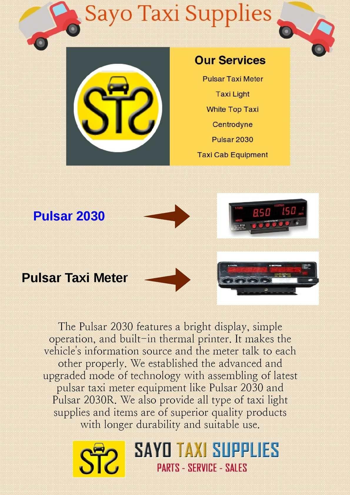 Pulsar Meter 2030 | Taxi Cab Equipment | Taxi