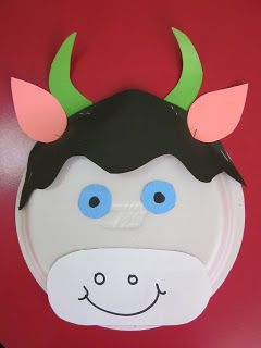 paper plate cow craft | Crafts and Worksheets for PreschoolToddler and Kindergarten & paper plate cow craft | Crafts and Worksheets for PreschoolToddler ...