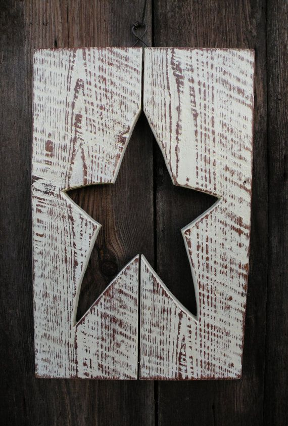 Primitive Star Wall Decor | Country Livin\' <3 | Pinterest ...