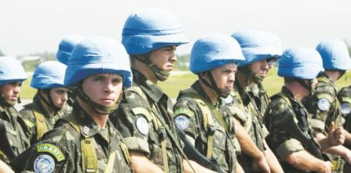 Denuncian a cascos azules por abusos de menores....