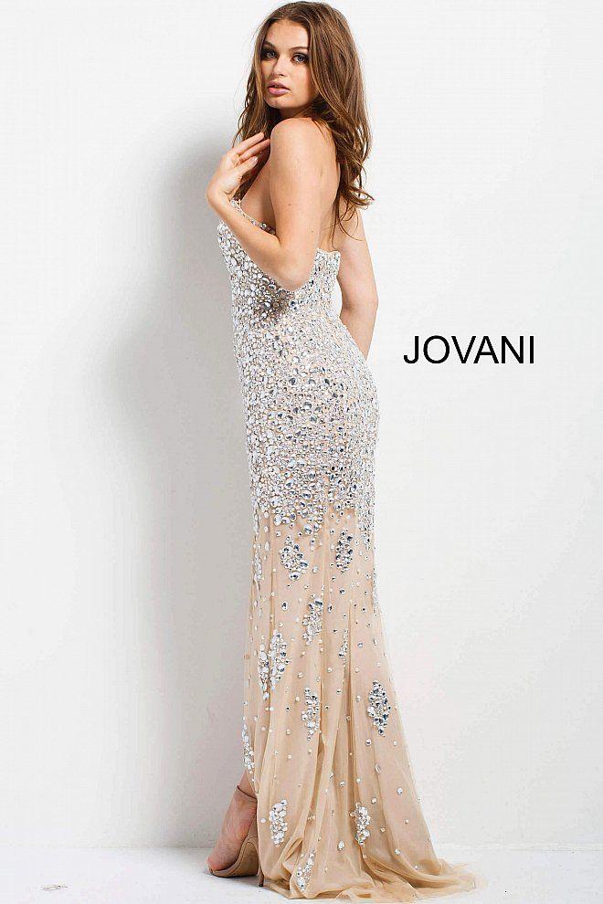 jovani 4247 #Jovani #SS2018 #Metallic | Metallic Dresses 2018 ...