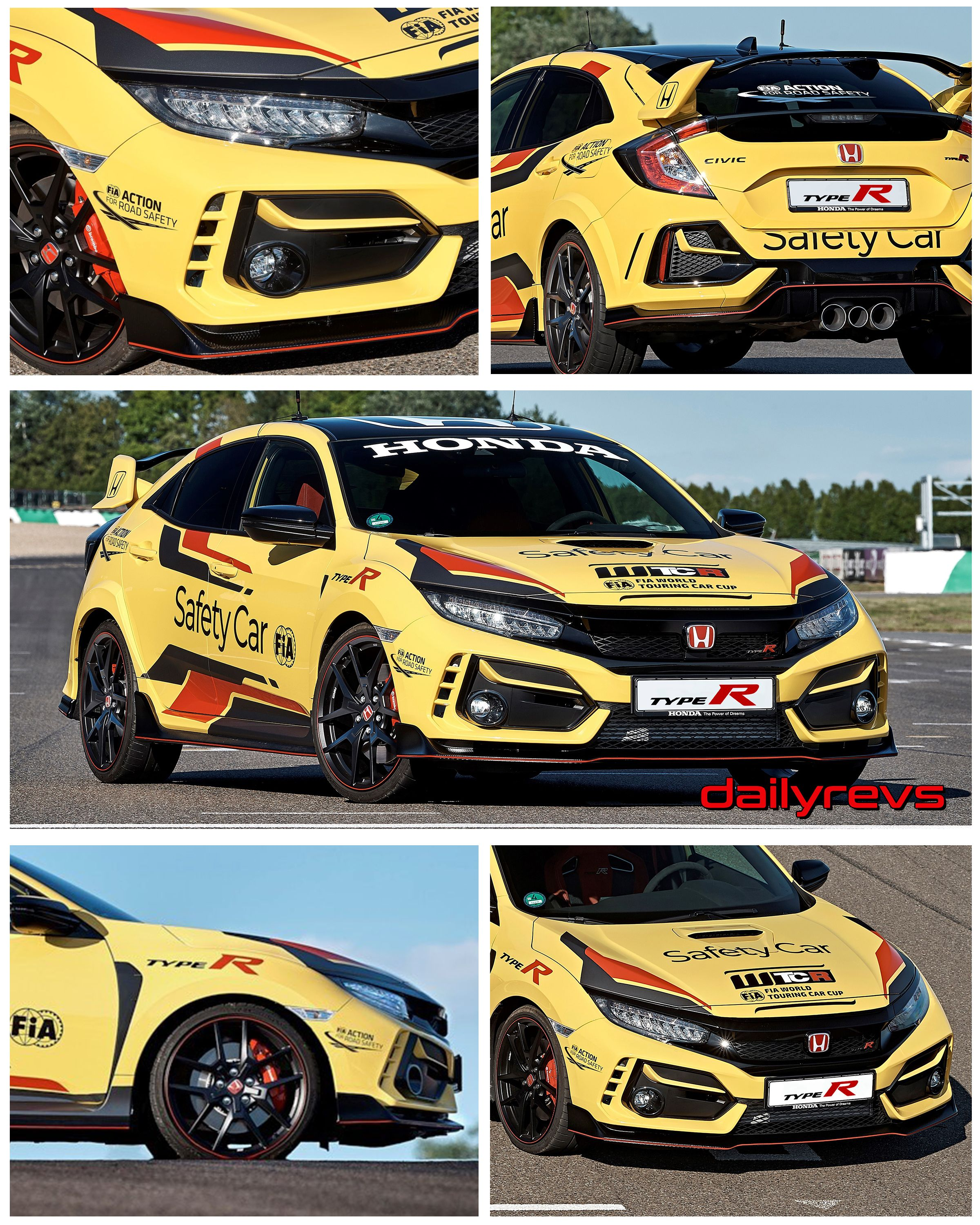 2020 Honda Civic Type R Safety Car Dailyrevs in 2020