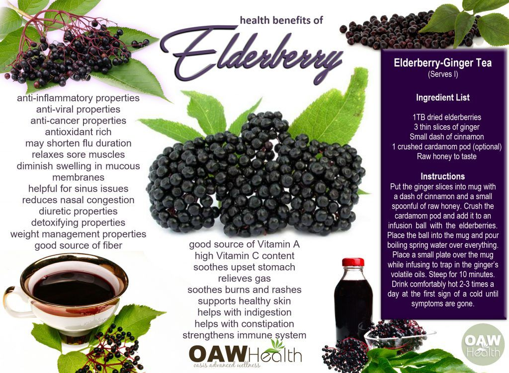 Incredible Health Benefits of Elderberry #elderberryrecipes
