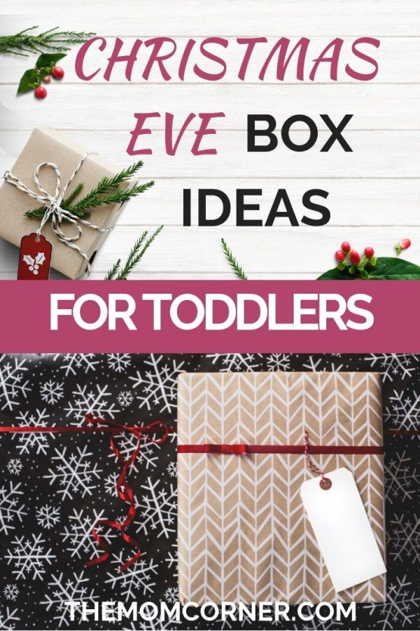 What To Put In A Toddler Christmas Eve Box