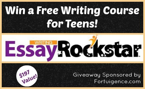 GIVEAWAY: Win a Essay Rock Star Non-Fiction Writing Program for TEENS – $197 Value!