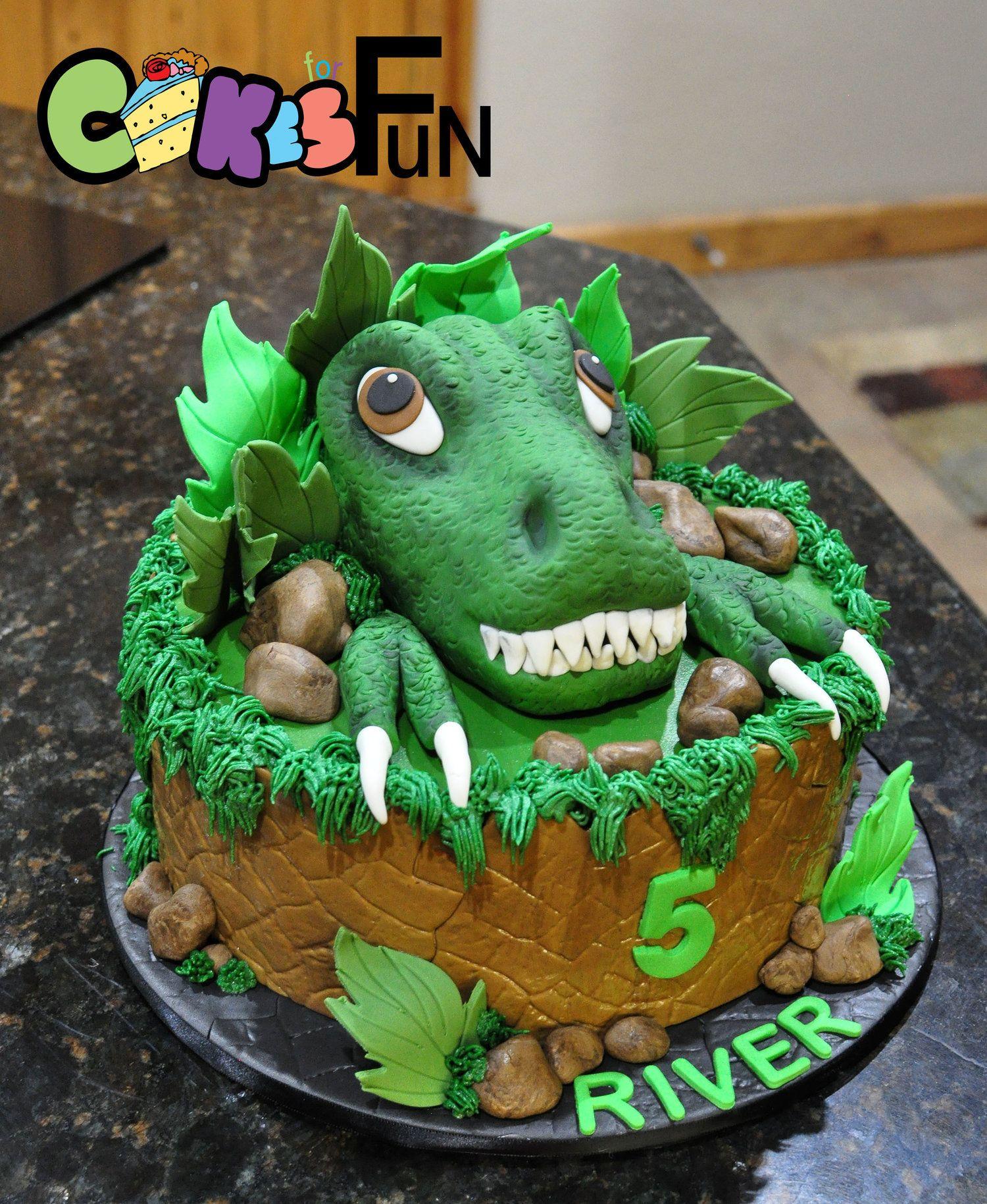 Dinosaur Cake Marrs 06162018