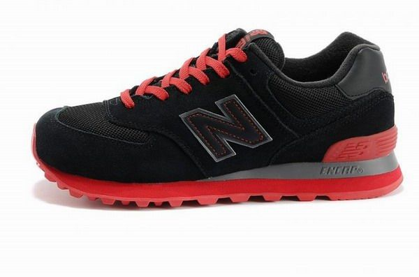 Joes New Balance Ml574nrc Sneakers Sole Neon Black Red Mesh Suede Mens Shoes New Balance 574 New Balance Shoes New Balance 574 Pink