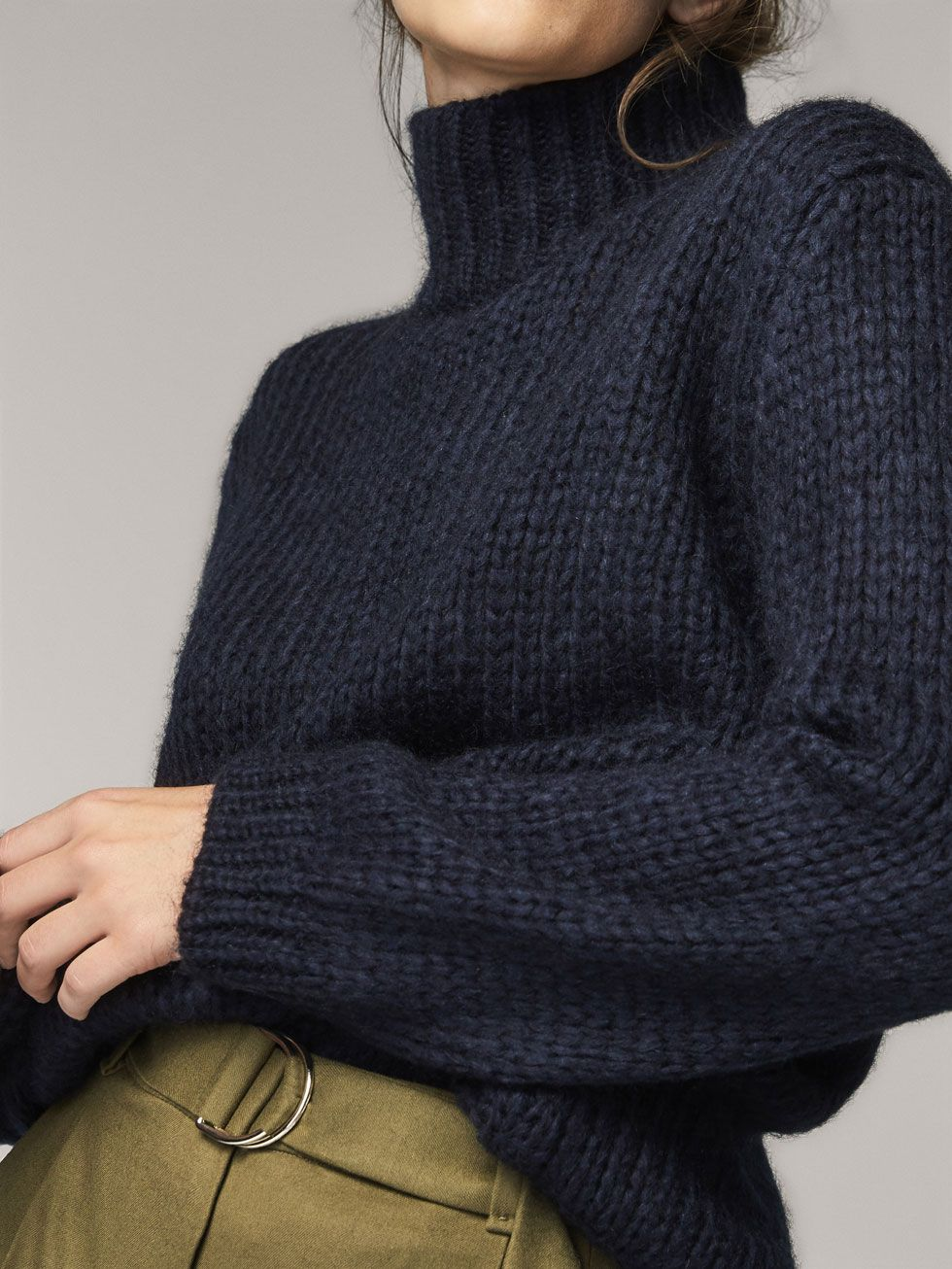 Fall Winter 2017 Women´s SOLID MOHAIR SWEATER at Massimo Dutti for 120.  Effortless elegance!