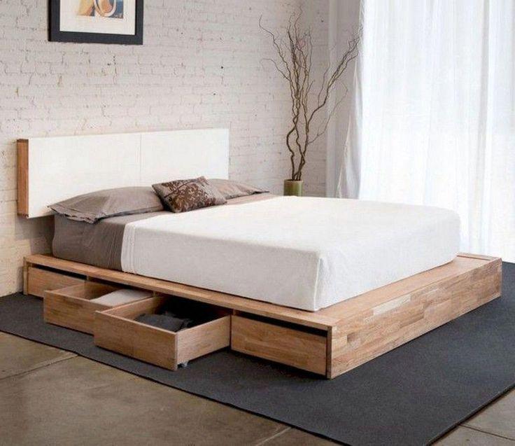 Storage Diy Platform Bed, Make Platform Bed With Storage