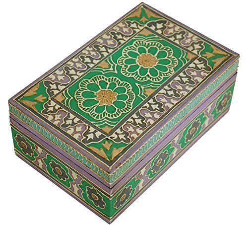 Hand painted treasure box Decorative gift
