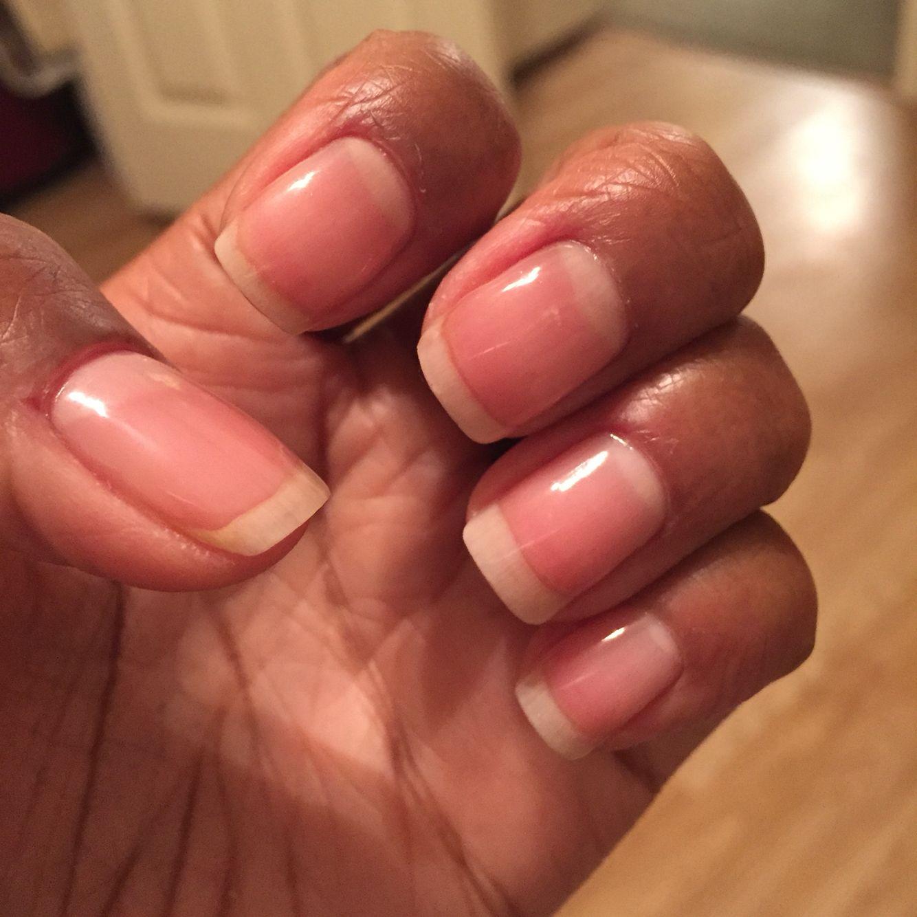 Clear Shellac Manicure