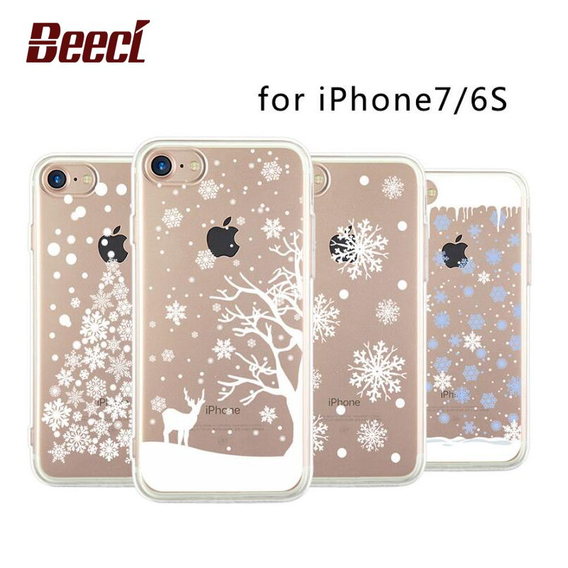 new style a3358 f8ab7 Aliexpress.com : Buy Beeci Christmas Tree Snowflakes Elk Case For ...