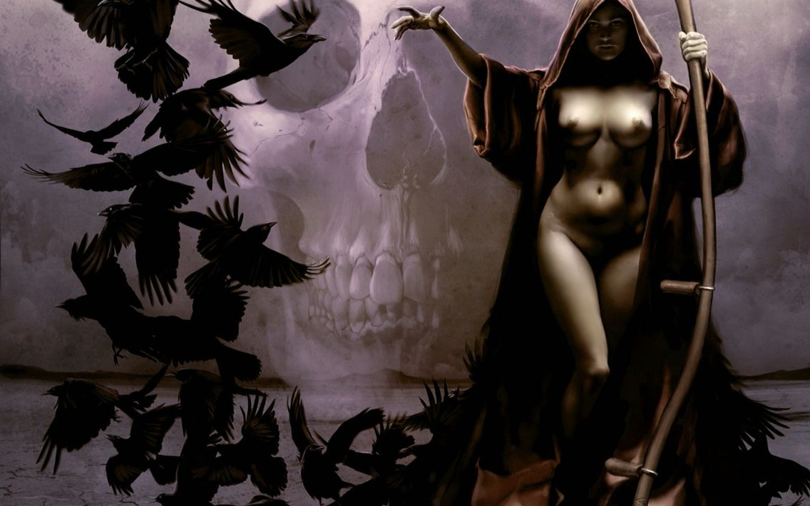 Can Wiccan fantasy art nude
