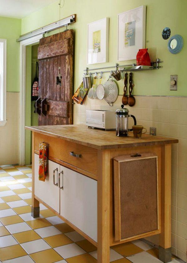 wunderkammer * Obsesión actual Puertas antiguas transformadas en - wohnzimmer ideen alt