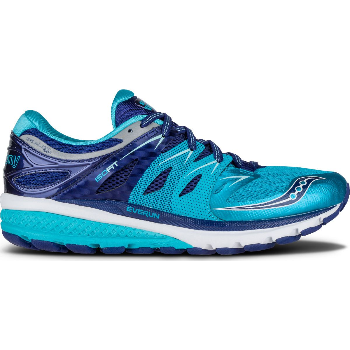 Fully equipped with Everun, Isofit and Tri-Flex advancements, Saucony  Zealot running shoes offer a highly cushioned, lightweight and flexible  ride.