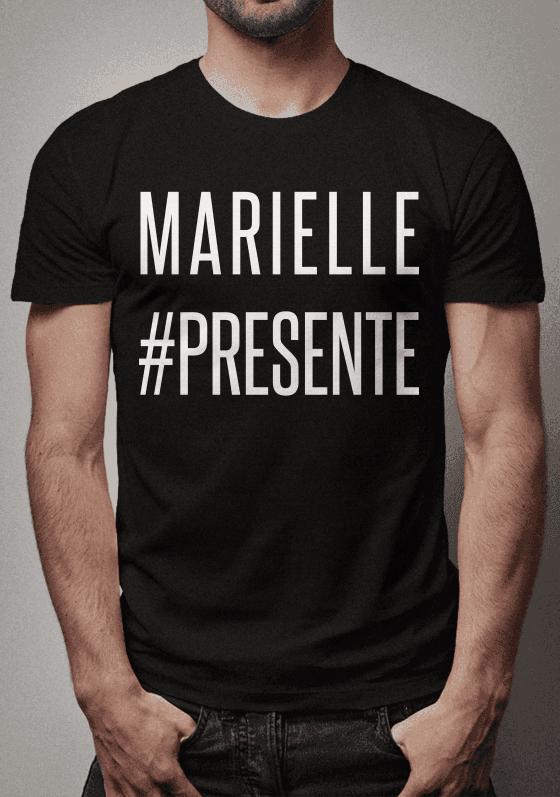 d44308821 Camiseta em homenagem a Vereadora do Rio De Janeiro que foi executada