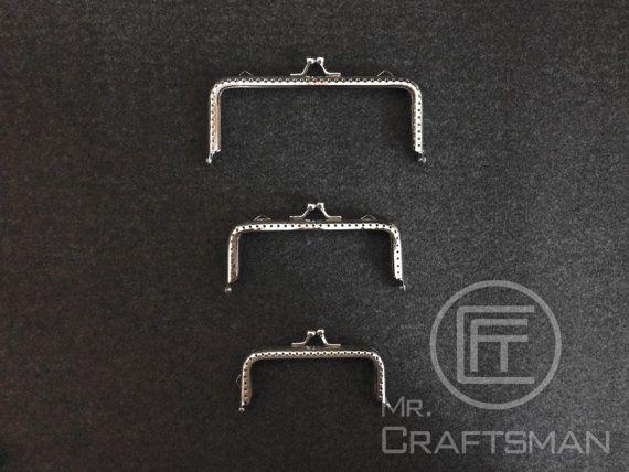 1pcs sliver color sewing metal kiss lock purse by MrCraftsmanHK, $14.00