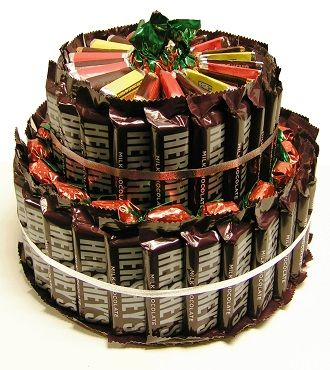 Hershey™ Cake: cute gift idea   Gift ideas for the holidays ...