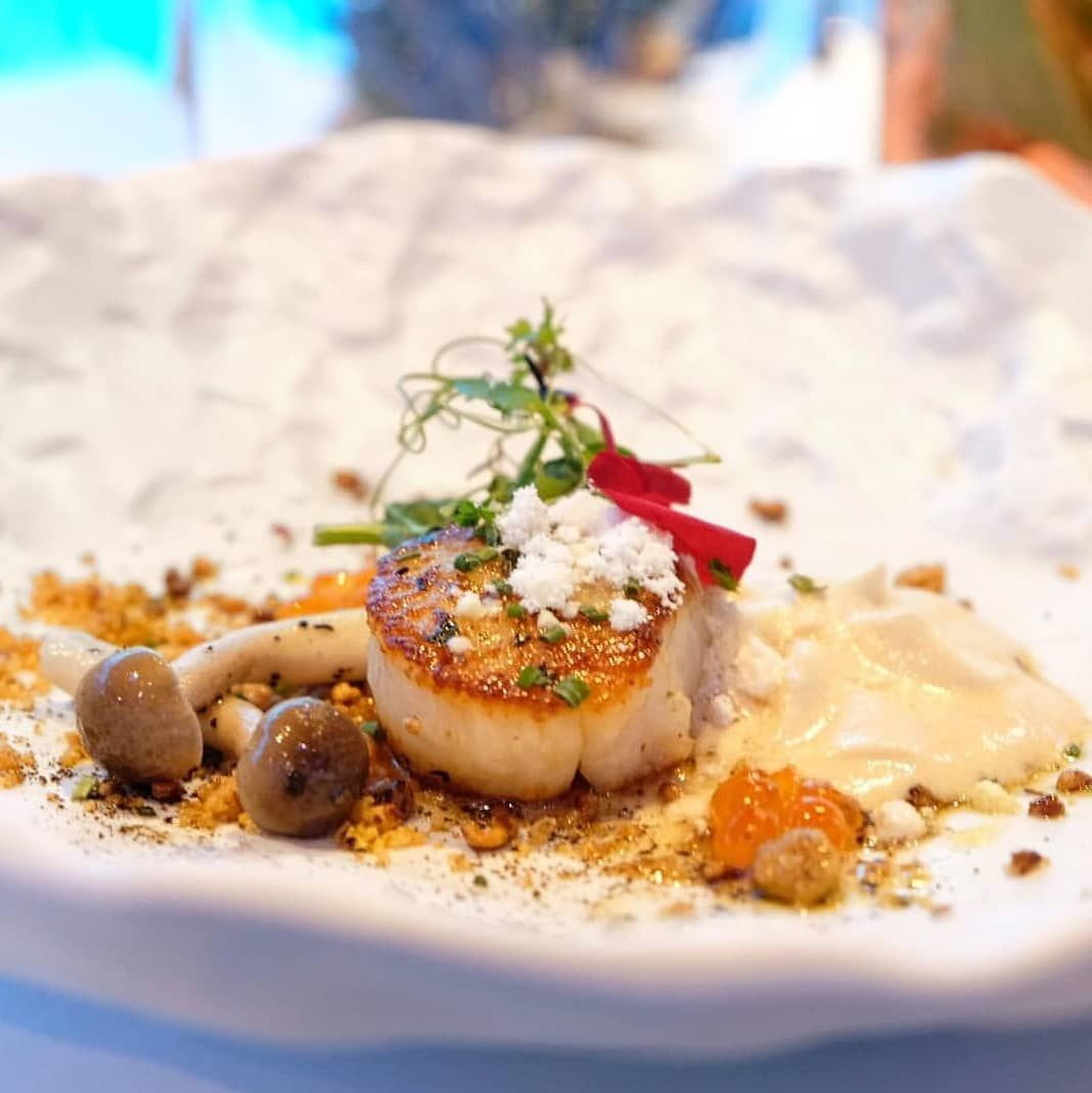 When At Ocean Restaurant The Herb Butter Cooked Hokkaido Scallops Are Not To Be Missed Rwsdiningartisans Credits Caf Ocean Restaurant Herb Butter Cooking