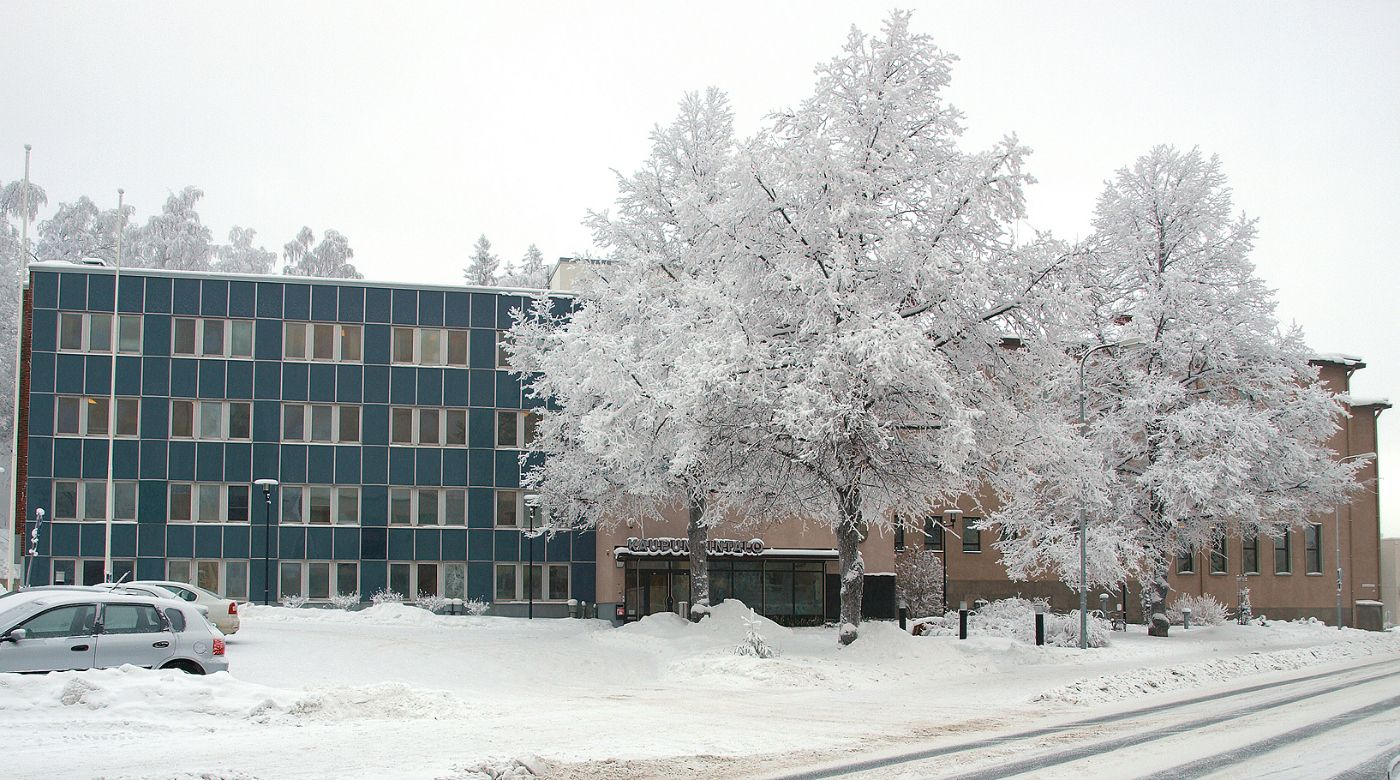 Kaupungintalo, Kalevankatu 1, Riihimäki. Kuva: Jaana Hodju