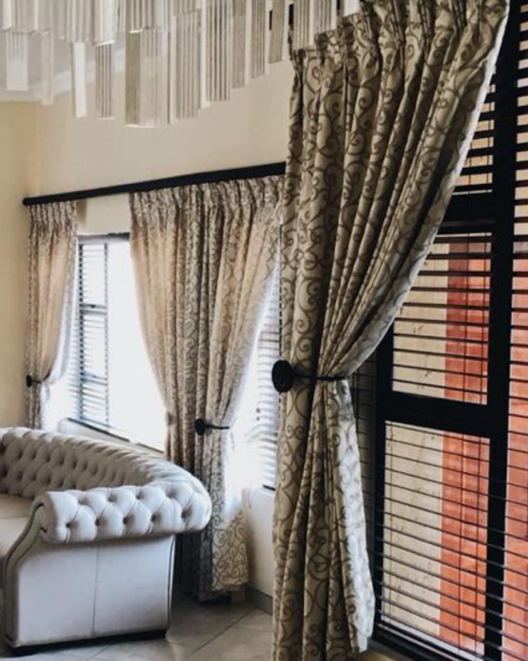 Another Stunning Project By Renes Blinds And Curtains Renesdecor Renesblindsandcurtains Renes Curtains Living Room Blinds Dining Room Decor Blinds Design