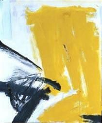 Zinc Yellow - Franz Kline