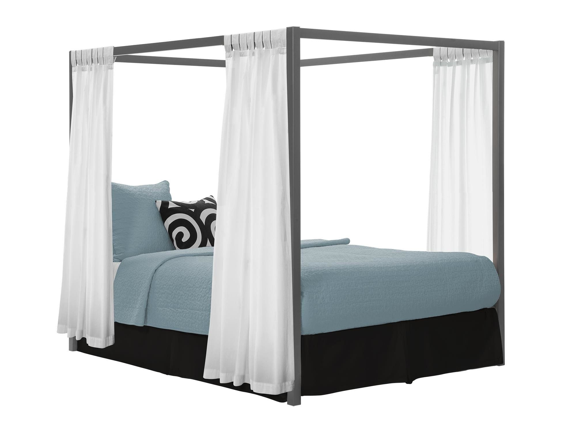 Felice queen canopy bed for the house metal canopy bed