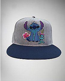 Stitch And Scrump Disney Snapback Hat  f0ddd0280a9